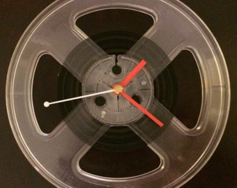 Audio Reel Clock - Conclocktion