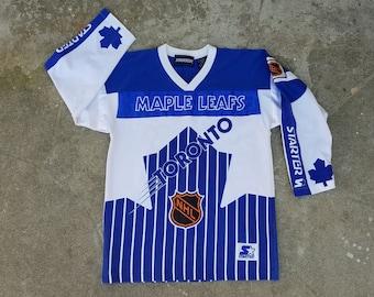 Rare Vintage Toronto Maple Leafs Starter Jersey Sz. L