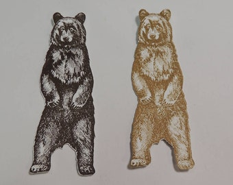 Bear Die Cuts