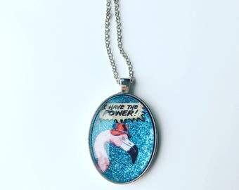 Flamingo Power Necklace