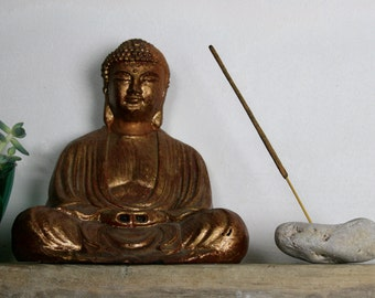 Wabi-Sabi Incense Holder - Holey Beach Stone - Small Yoga Gift - Meditation - Baltic Sea