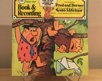 The Flintstones Fred And Barney Best Friends Record And Book