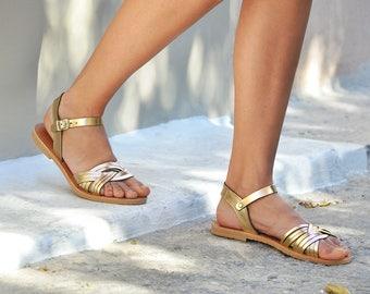 Leather sandals, Greek sandals, Sandals, Leather sandals women, Gold sandals, Wedding sandals, Sandales grecques, MEDUSA