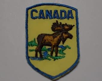 Vintage Canada Moose Patch