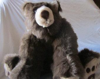 Monty,  baby brown bear