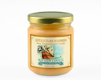 Adventure Stories - Scented Soy Candle