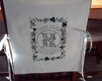Custom Made Chair Cover / Bib