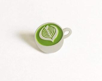 Matcha Latte Pin