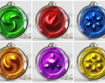 Zelda Sage Medallion Pendants
