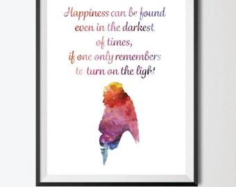 Dumbledore Quote Print/Harry Potter/Dumbledore