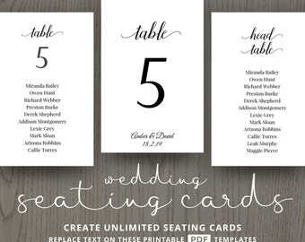 Cheap table numbers Etsy