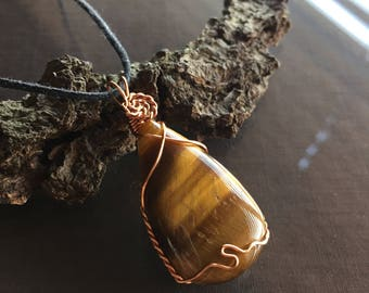 Tigers Eye Necklace