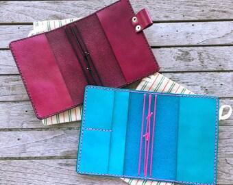 POCKET ADD-ON - Travelers Notebook Pocket Upgrade - Pockets - Field Notes/Pocket Pockets - Passport Pockets - Wide Pockets - A6 Pockets