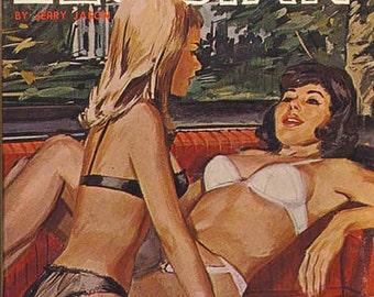 Lesbian pulp vintage art print—Country Club Lesbian