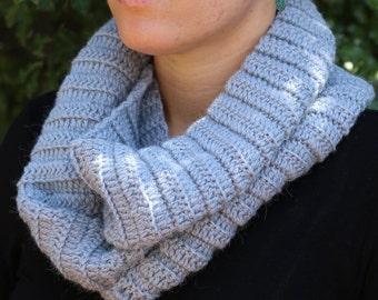 Flow Scarf: Australian wool and alpaca, yoga scarf, infinity scarf