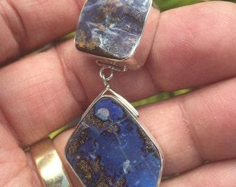 Australian Boulder Opals in Sterling Silver  16065