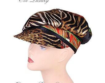hat with a visor,newsboy cap,original headdress,hat made of silkheadgear with a visor,fun caps,cap lovers,best cap,