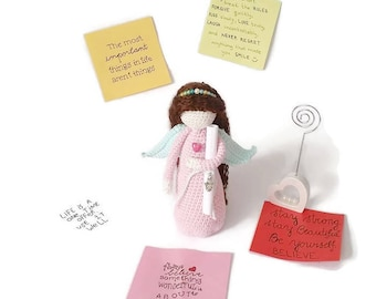 Guardian angel message, Custom message angel, Sympathy gift, Angel doll, Angel reading, Get well soon, Inspirational quote angel, Life quote