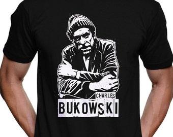 Charles Bukowski T-Shirt - Factotum Post Office Women Ham on Rye Hollywood Pulp Hunter S. Thompson Jack Kerouac William S. Burroughs