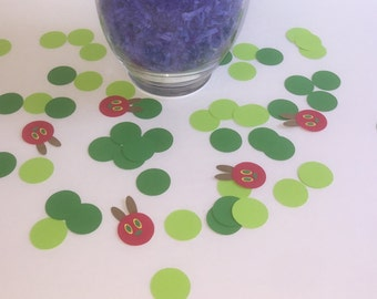 The Very Hungry Caterpillar Birthday Party Confetti