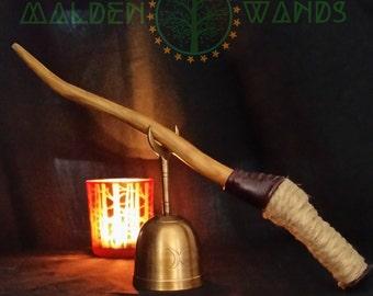 "13"" OOAK Wildcrafted Malden Wand"