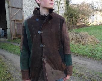 skin lambswool mao jacket