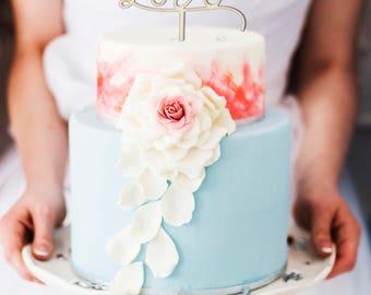 Endless love cake topper