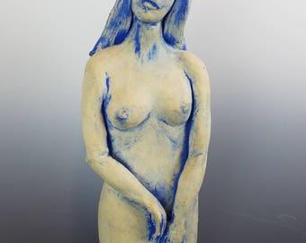Martha Lockhart - Blue Woman