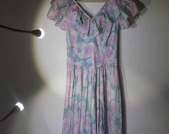 the pastel poppy dress