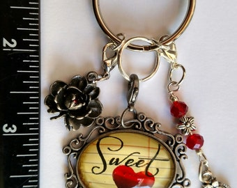 Sweetheart Keychain - Purse Charm