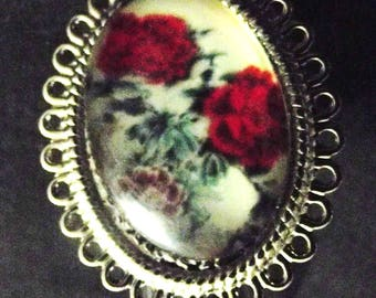"Ring ""Baroque flowers"""