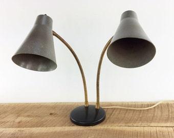 MCM Gooseneck Desk Lamp//Mid Century Lighting