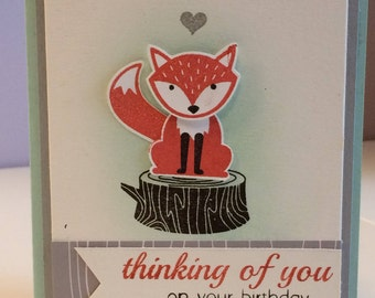 Foxy Birthday Cards
