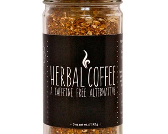 Herbal Coffee, Organic Herbs, Caffeine Free, Roasted Chicory Root, Liver Support