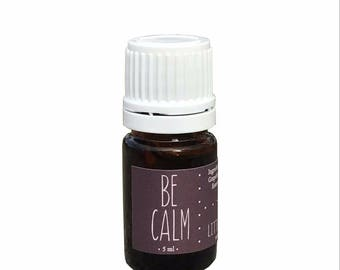 Essential Oil Blend, Be Calm, Pure Essential Oils, Organic, Relaxing, Sleep Well, Safe for Kids