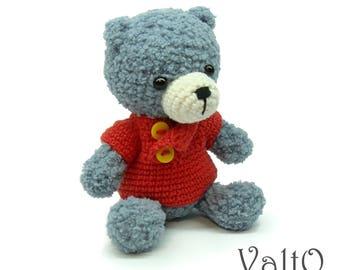 Little bear, teddy bear, bear, crochet bear, soft bear, stuffed bear, miniature bear, amigurumi bear, plush bear