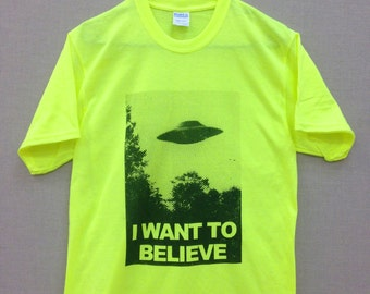 SALE! I Want to Believe Shirt