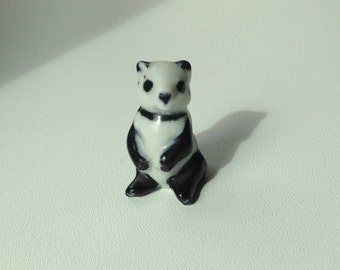 1950's Sweet little Panda from Wade Whimsie Zoo Animals Set 8 (1957-61)