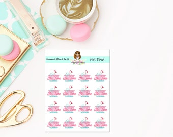 Me Time Planner Stickers