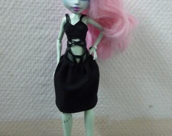 UGLY littl girl - Monster High OOAK doll - Frankie Stain