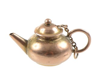 14KT Gold Teapot Charm