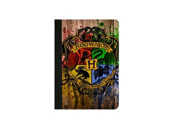 Harry Potter - HOGWARTS Inspired  Faux Leather Folio/Book Case for IPad Mini 1,IPad Mini 2, IPad Mini 3, IPad Mini 4