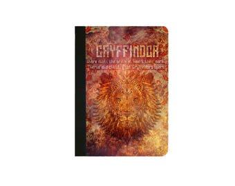 Harry Potter-GRYFFINDOR Inspired  Faux Leather Folio/Book Case for IPad 2 IPad 3 Ipad 4 Ipad Air/Air 2 Ipad Pro 9.7 IPad 12.9