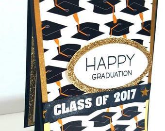 Graduation Card, 2017, Pop-up Card, Handmade Graduation Card