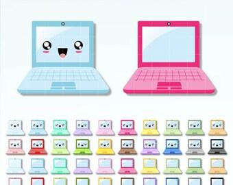 Pink Laptop Clip Art