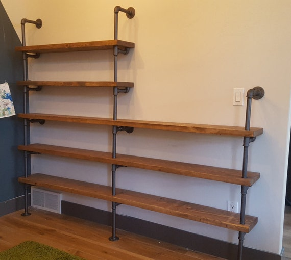 industrial pipe shelving large industrial pipe shelving unit 28460