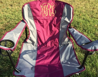 Monogram Customized Folding Chair