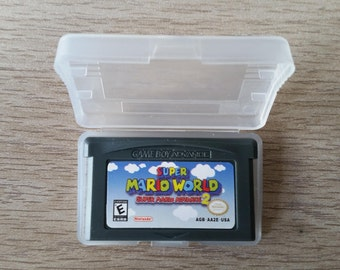 Super Mario World - Super Mario Advance 2 - GBA - Game Boy Advance - Gameboy