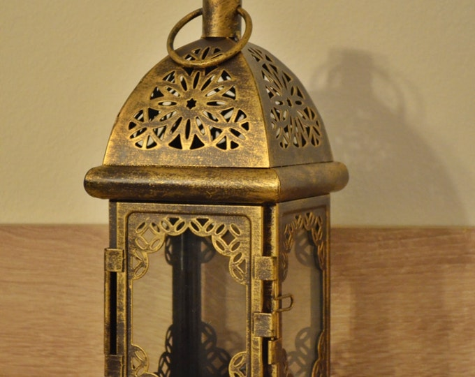 10%OFF Vintage Moroccan Lantern / Bronze lantern / Rustic lantern / Lanterns / wedding lantern / weddings lanterns / lantern centerpiece