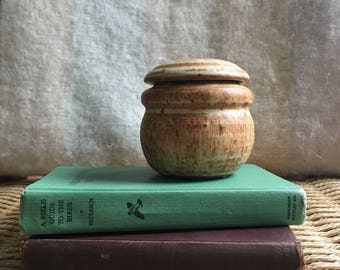 Handmade Lidded Ceramic Pot